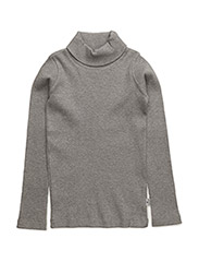 T-shirt L/S - TILE GREY MELANGE