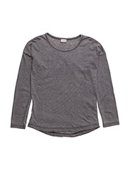T-shirt L/S - GREY BLEND