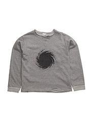 Sweatshirt - TILE GREY MELANGE