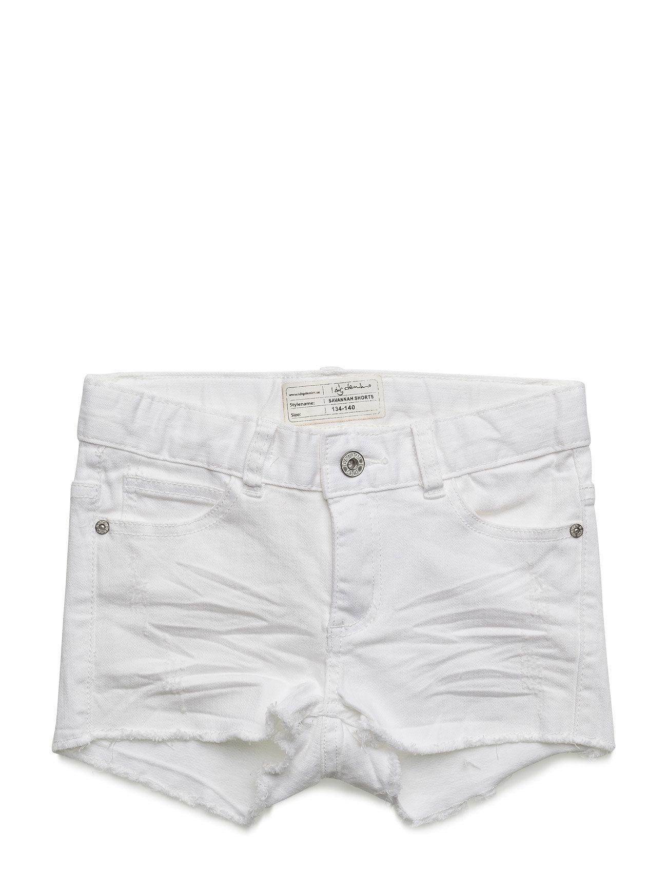 Savannah Shorts I dig denim  til Børn i hvid