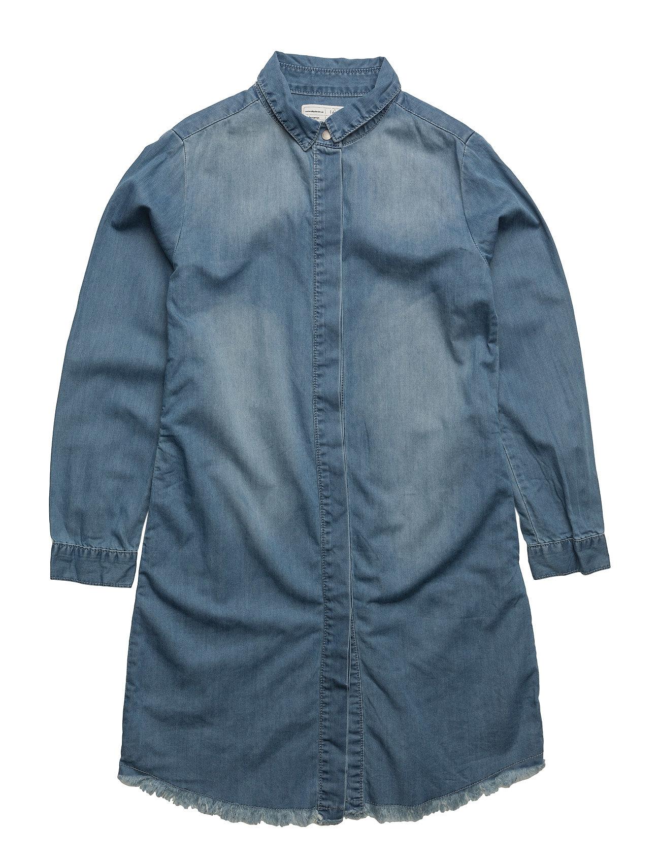 Kingsley Dress I dig denim Kjoler til Børn i Blå