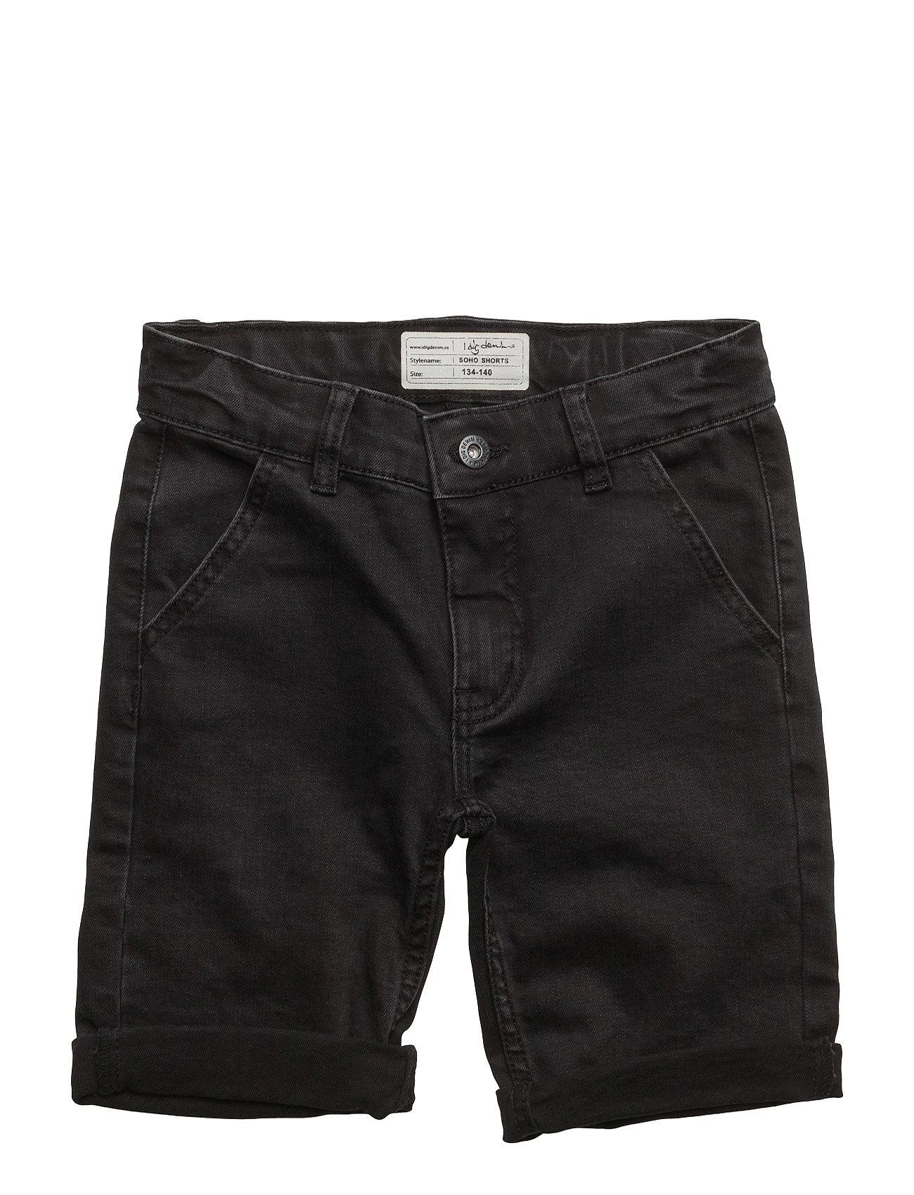 Soho Shorts I dig denim  til Børn i Sort