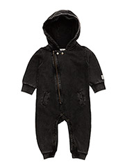 Egon jumpsuit - BLACK WASHED