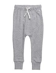 Ed sweater pant - GREY MELANGE