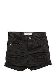 Rio highwaist shorts - BLACK