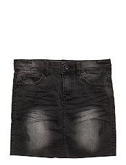 Viola denim skirt - BLACK