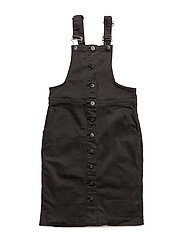 Ava denimdress - BLACK