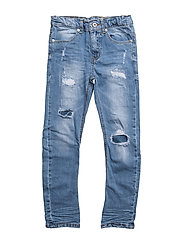 Brent jeans - BLUE WORN