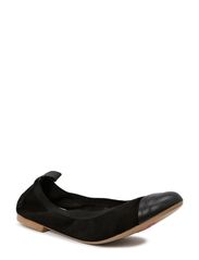 Aicha 2 new - Black suede/nappa