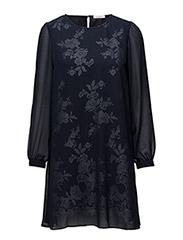 Amerie Dress - NAVY