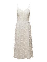 Britni Dress - IVORY CREAM