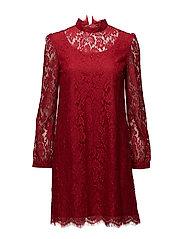Hannah Dress - RED