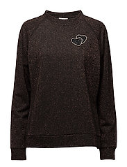 Joey Sweater - BLACK/COPPER
