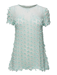 Petal Top - TURQUOISE
