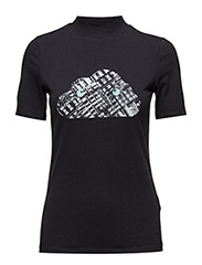 WOMANS T-SHIRT - BLACK