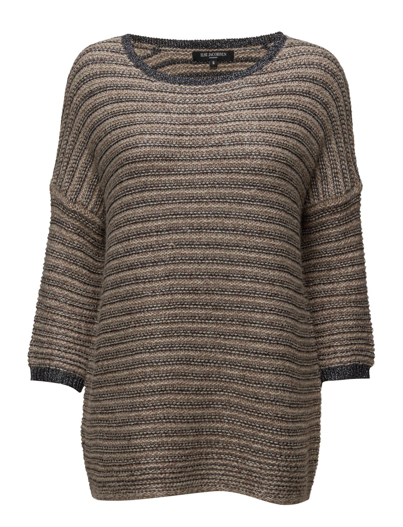Womens Knit Pullover Ilse Jacobsen Sweatshirts til Damer i Atmosfære