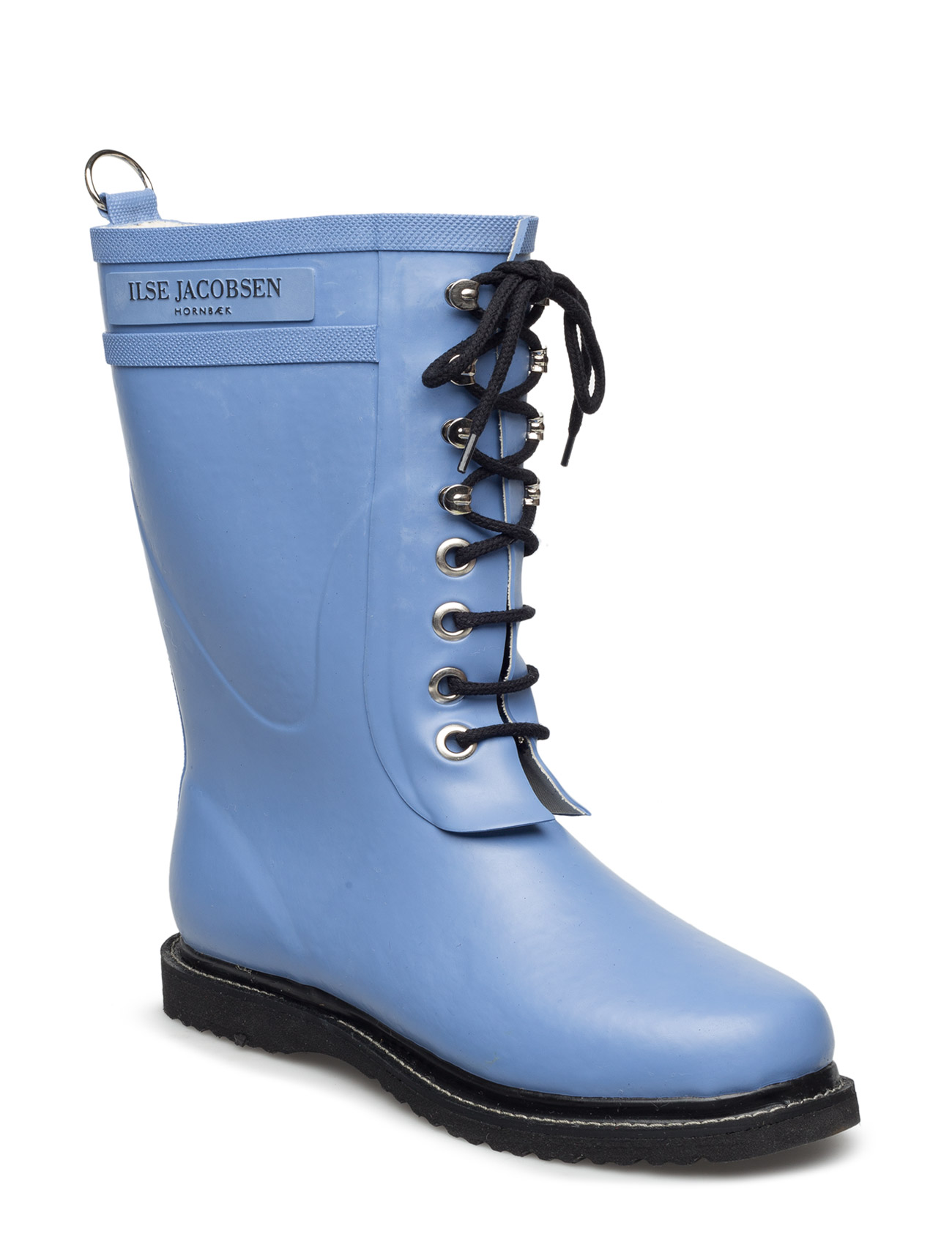 Rain Boot - Mid Calf, Classic With Laces Ilse Jacobsen Støvler til Damer i