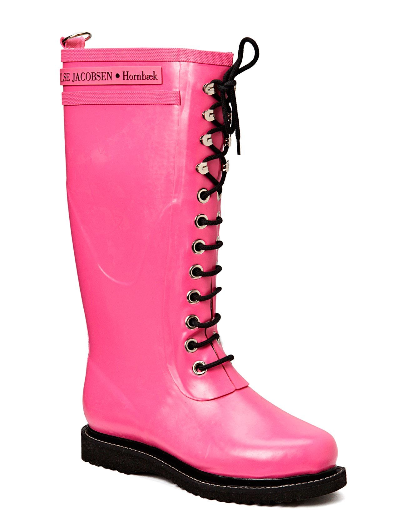 Rain Boot - Long, Classic With Laces Ilse Jacobsen Støvler til Damer i
