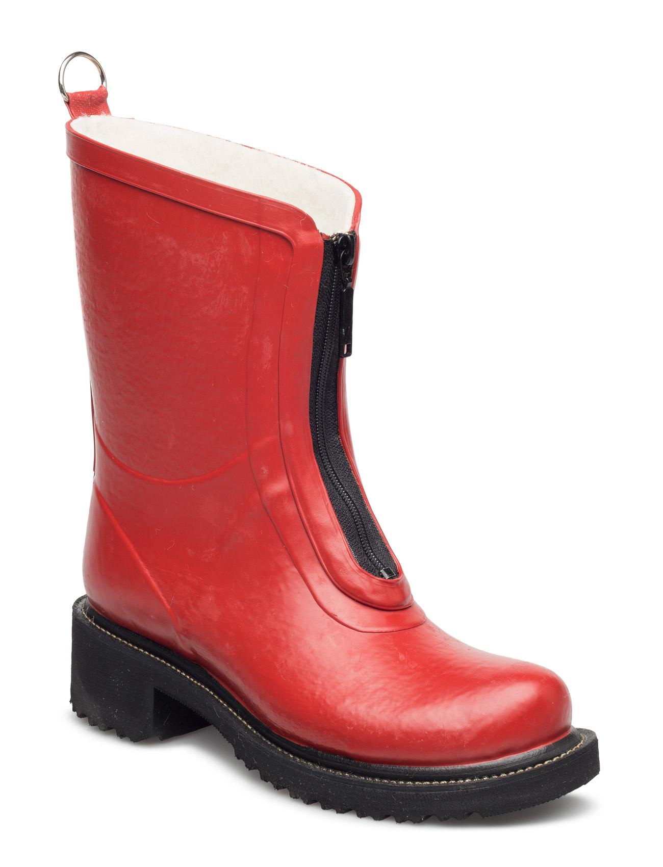 Rubber Boots Ilse Jacobsen Støvler til Kvinder i Sort