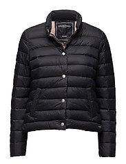 Woman light down jacket - DARK INDIGO