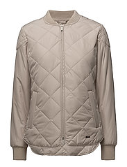 PADDED QUILT JACKET - 029 CHATEAU GRAY