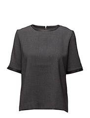 WOMENS SHORT SLEEVE TOP - SMOKED PEARL
