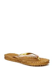 FLIPFLOP WITH GLITTER - GOLD