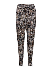 WOMENS LOOSE PANTS - SMOKED PEARL