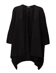 WOMENS OVERSIZE KNIT - BLACK