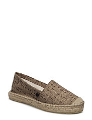 ESPADRILLE - METALLIC BROWN