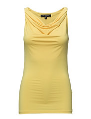 TOP W COWL NECK - SUN YELLOW