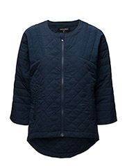 WOMANS COAT - INDIGO