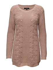 WOMENS PULLOVER - DUSTY PINK