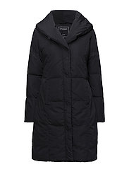 DOWN COAT - DARK INDIGO