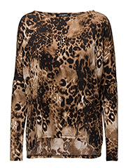 WOMENS OVERSIZE BLOUSE - CHAMPAGNE