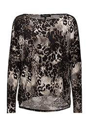 WOMENS OVERSIZE BLOUSE - SMOKED PEARL