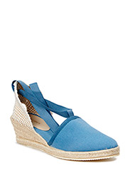 ESPADRILLE WITH WEDGE HEEL - LAKE