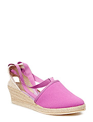 ESPADRILLE WITH WEDGE HEEL - MULBERRY