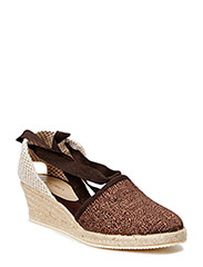 ESPADRILLE WITH HGH HEEL - JAVA