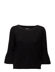 KNIT SWEATER - BLACK