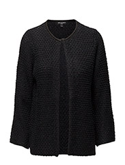 WOMENS KNIT CARDIGAN - BLACK