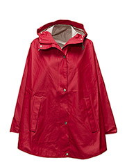 RAIN PONCHO - DEEP RED