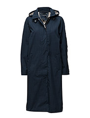 WOMANS RAIN COAT - DARK INDIGO
