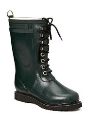 RAIN BOOT - MID CALF, CLASSIC WITH LACES - Deep Forest