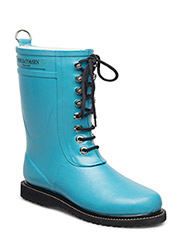 RAIN BOOT - MID CALF, CLASSIC WITH LACES - PACIFIC