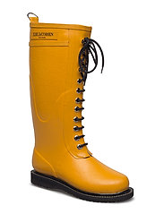 RAIN BOOT - LONG, CLASSIC WITH LACES - 801 GOLDEN YELLOW