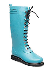 RAIN BOOT - LONG, CLASSIC WITH LACES - PACIFIC