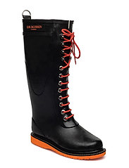 LONG RUBBER BOOT - ORANGE