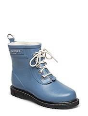 RAIN BOOT - ANKLE, CLASSIC WITH LACES - MOONSTONE