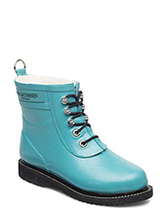 RAIN BOOT - ANKLE, CLASSIC WITH LACES - PACIFIC